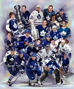 "16"" x 20"" Canvas Print Toronto Maple Leafs"
