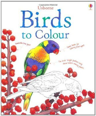 Birds to Colour (Nature Colouring Books) By Megan Cullis,Jenny Cooper
