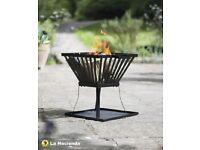 Small Square Fire Basket BNIB