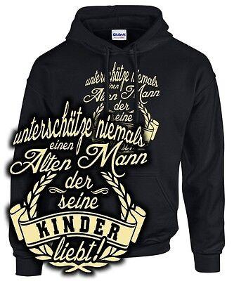 Sweatshirt Vater ALTER MANN DER SEINE KINDER LIEBT Papa Tochter Sohn Familie Alter Sweatshirt