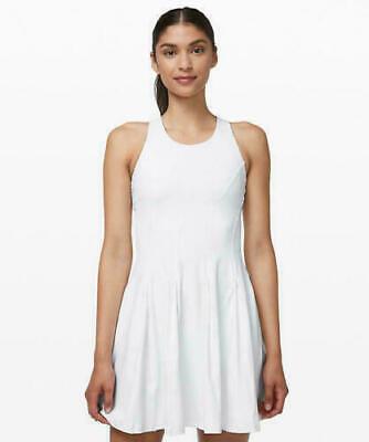 NWT Lululemon Court Crush White Tennis Dress Size 6