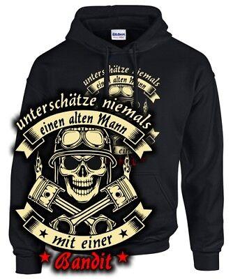 BANDIT Tuning 600 650 1200 1250 gsf ALTER MANN MOTORRAD Spruch Biker SWEATSHIRT Alter Sweatshirt