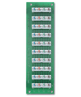 Leviton 1X9 BRIDGED TELEPHONE BOARD, - 1x9 Bridged Telephone