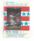 Pete Rose MLB Publications
