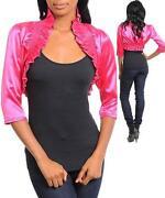 Pink Bolero Jacket
