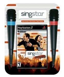 Singstar Amped (Inclus 2 Microphones) - PlayStation 2
