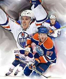 "16"" x 20"" CANVAS PRINT CONNOR MCDAVID"