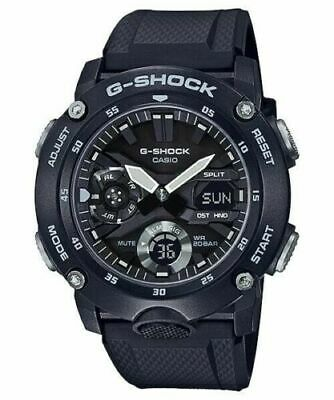 Casio G-Shock GA2000 Front Button A/D Metal Black/Silver Men's Watch GA2000S-1A