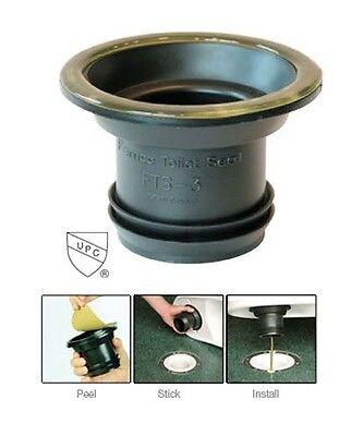 Fernco FTS-4CF Wax Free Toilet Seal - 3x4 -