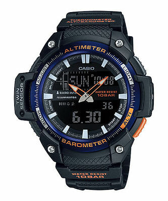 Casio SGW450H-2B, Altimeter, Barometer, Thermometer, Watch, 5 Alarms, World Time