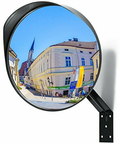 Adjustable Convex Mirror - Clear View Garage and Driveway Park Assistant...