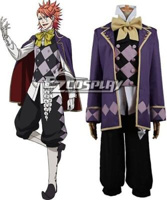 Black Butler Book of Circus Joker Cosplay Costume/Free - Costume Of Joker