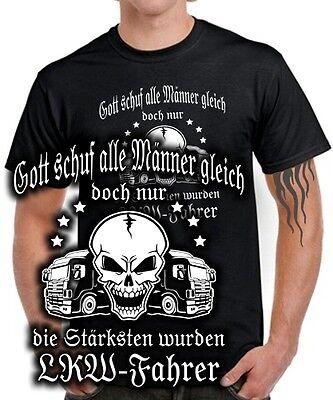 LKW FAHRER T-Shirt DIE STÄRKSTEN MÄNNER Trucker Truck Spruch lustig Geschenk ()