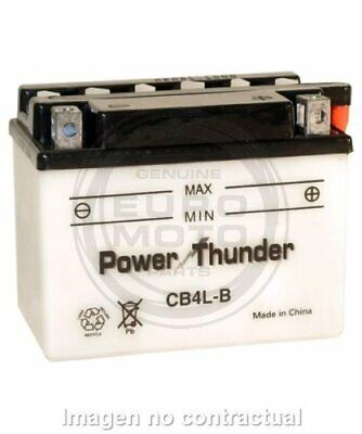Bateria POWER THUNDER YB4L-B   CB4   PB4LB   CB4LB   YB4LB...