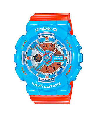 Casio Baby-G  Women's  Hyper Color Ana-Digi XL Limited Edition Watch  BA110NC-2A