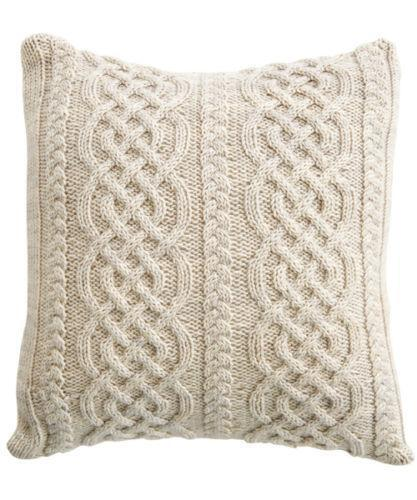 Cable Knit Cushion Ebay