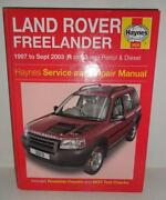 Land Rover Haynes Manual