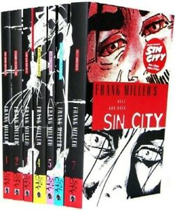SIN CITY full collection by Frank Miller