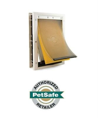 (PetSafe Extreme Weather Pet Door White, 3 Sizes Small, Medium, Large  )