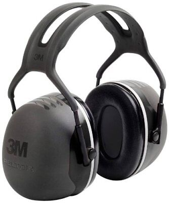 3m Peltor X-series Over-the-head Earmuffs Nrr 31 Db One Size Fits Most Black