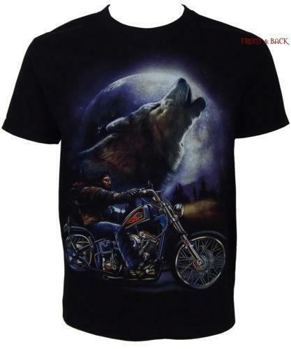 howling wolf t shirt ebay. Black Bedroom Furniture Sets. Home Design Ideas