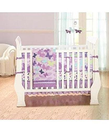 Lilac Crib Bedding Ebay