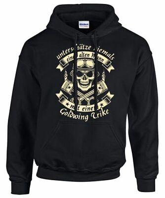 GOLDWING Trike Hoodie Tuning Triker Treffen Sweatshirt Alter Mann mit einem  Alter Sweatshirt