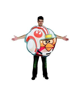 Halloween Angry Birds Star Wars Luke Fighter X-WING Pilot Adult Costume One Size