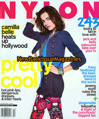 Nylon 2/09,Camilla Belle,February 2009,NEW