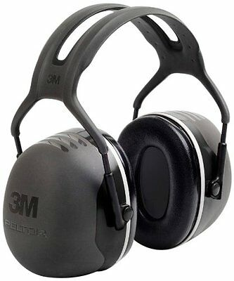3M X5A Peltor X-Series Over-the-Head Earmuffs, NRR 31 dB,