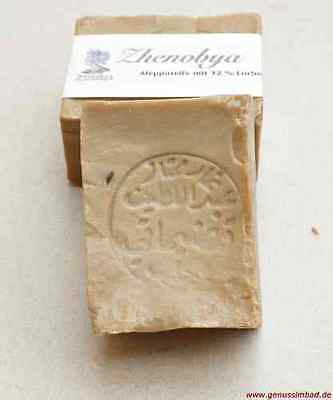 Original Zhenobya Alepposeife mit 12 % Lorbeeröl