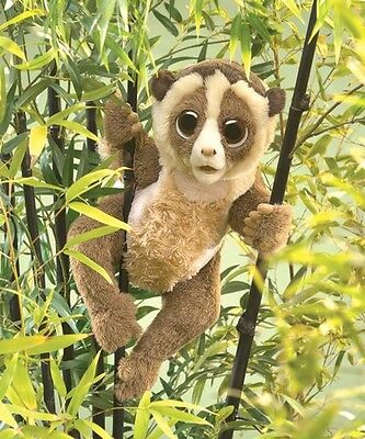 SLOW LORIS PUPPET 3072 ~ NEW for 2016 ~ Free Shipping/USA ~ Folkmanis Puppets