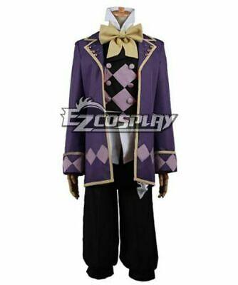 Black Butler Book of Circus Joker Cosplay Costume/Free - Black Butler Joker Kostüm