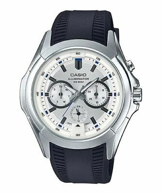 NEW MODEL CASIO MTP-E204-7A Men's Watches Analog 50 WATER RESISTANT ILLUMINATOR*