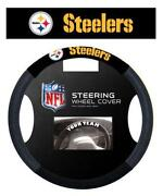 Steelers Steering Wheel Cover