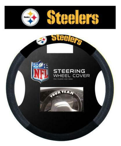 Steelers Steering Wheel Cover | eBay