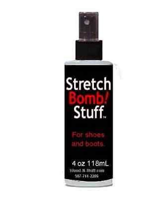 4 oz Bottles of Shoe STRETCH BOMB Works Best on BOOTS SHOE