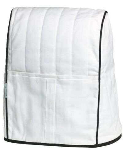 New KMCC1WH KitchenAid Cloth Cover Fits All Artisan&Lift Stand Mixers White