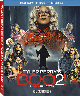 Tyler Perry's Boo 2! A Madea Halloween [New Blu-ray] With DVD, UV/HD Digital C](Madea Halloween Boo)
