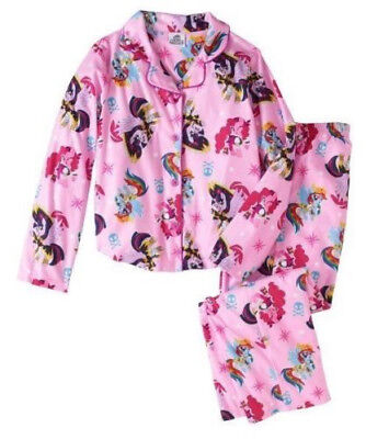 Mlp Pajamas (Little Pony Movie Pajamas Set 6/6x Twilight Pinkie)