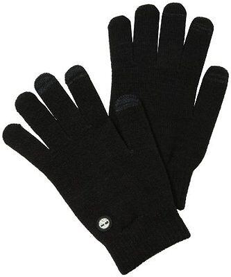 Timberland Lightweight Knit Magic Glove, Touchscreen Technology, NEW, Black