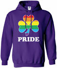 Rainbow Hoodie Purple Sweats & Hoodies for Women