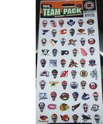NHL Helmet Decals