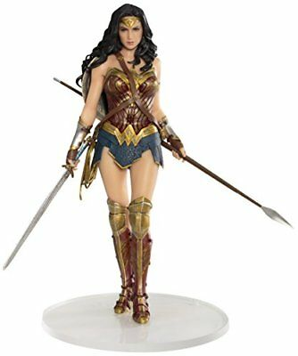 justice league movie: wonder woman artfx+ statue 8 inch