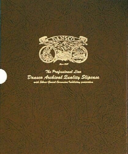 """Dansco Quality Album Slipcase 3/4"""" Coin Protection Corrosion Inhibiting Cover"""