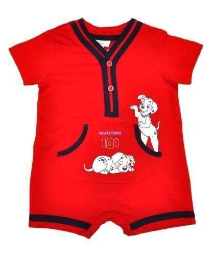 brand new 101 DALMATIANS BABY SHORT ROMPER SUIT (3 MONTHS)