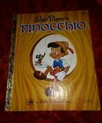 Little Golden Book Pinocchio
