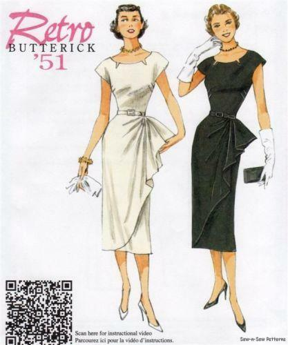 1950s dress patterns ebay