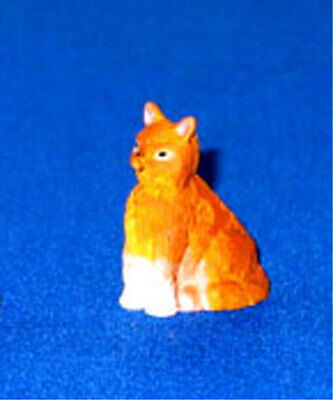 Dolls House 12th Scale - Ginger Cat NB381