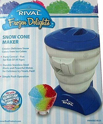 Мороженицы Rival Frozen Delights Snow Cone